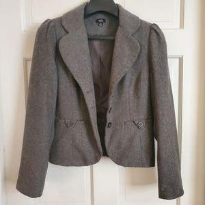 Mossimo Womens Grey Blazer